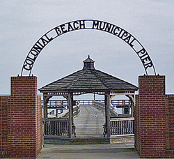 Colonial Beach Municipal Pier