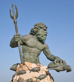 King Nepture Statue - Virginia Beach