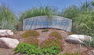 Sandbridge sign