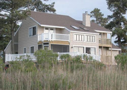 Chincoteague Bay house