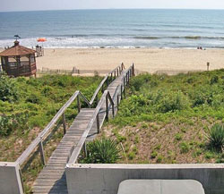 Oceanfront Croatan Beach Rental
