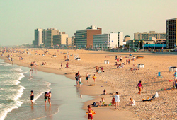 Virginia Beach resort strip